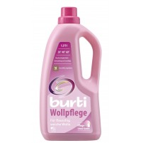 Detergent lichid pentru lana si matase Burti, 21 spalari, 1,275 l, fabricat in Germania